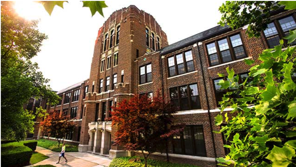 building on campus at CMU national campus climate survey