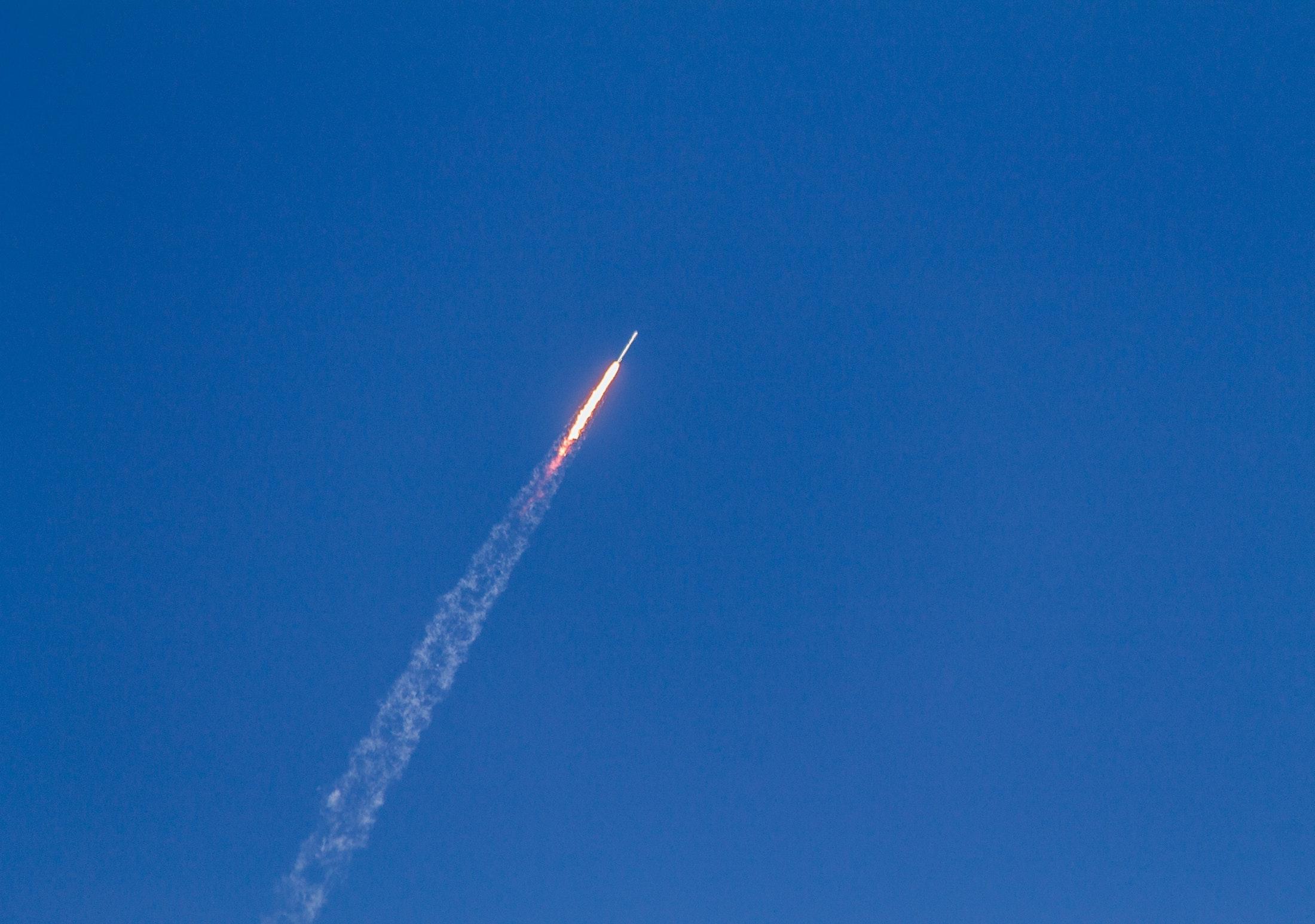 rocket far away launching remote work